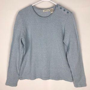 Orvis Super Soft Cotton Cashmere Sweater